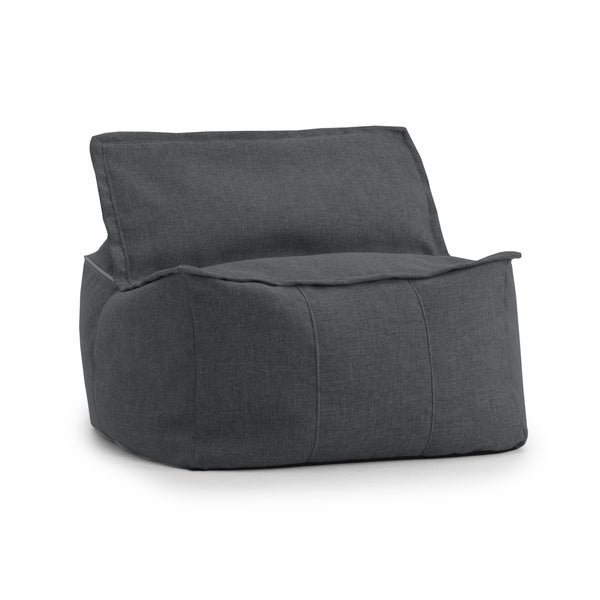 Beansack Big Joe Lux Zip It Square Bean Bag Chair Free