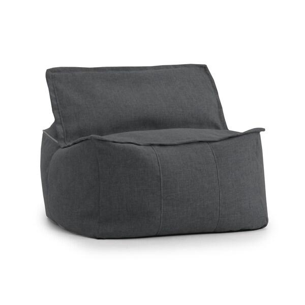 Beansack Joe Lux Zip It Square Bean Bag Chair