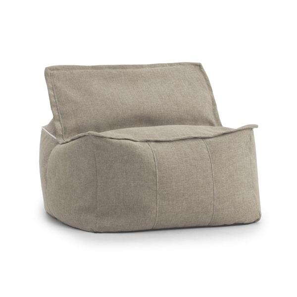Tremendous Shop Beansack Big Joe Lux Zip It Square Bean Bag Chair Bralicious Painted Fabric Chair Ideas Braliciousco