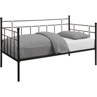 DHP Hayley Metal Black Daybed