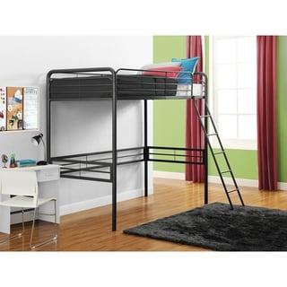 DHP Metal Twin Loft Bed
