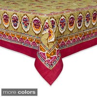 Couleur Nature Pansy Rectangle Tablecloth