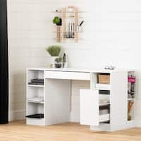 South Shore Furniture Crea Craft Hobby and Sewing Machine Wood Table