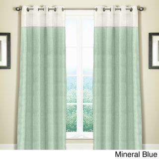 Grand Luxe Linen Monterey Grommet Curtain Panel