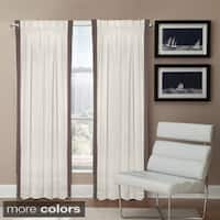 Veratex Linen Central Park Rod Pocket Single Curtain Panel