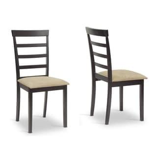 Baxton Studio Jet Sun Dining Chair Set of 2
