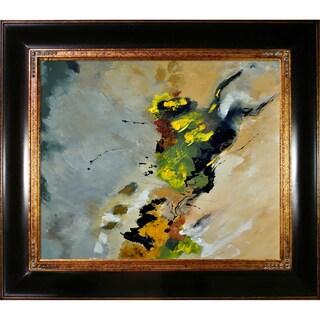 Pol Ledent 'Abstract 881213 ' Framed Fine Art Print