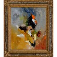 Pol Ledent 'Abstract 8811801 ' Framed Fine Art Print
