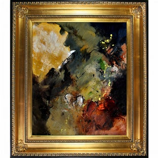 Pol Ledent 'Abstract 665021 ' Framed Fine Art Print