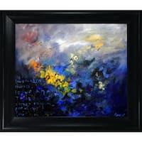 Pol Ledent 'Abstract 79 ' Framed Fine Art Print