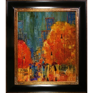 Justyna Kopania 'Rain ' Framed Fine Art Print