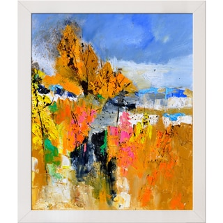 Pol Ledent 'Abstract 6611702 ' Framed Fine Art Print