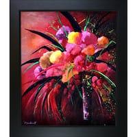Pol Ledent 'Still Life 67211 ' Framed Fine Art Print