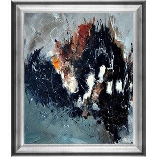 Pol Ledent 'Abstract 8811114 ' Framed Fine Art Print