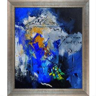 Pol Ledent 'Abstract 6611701 ' Framed Fine Art Print