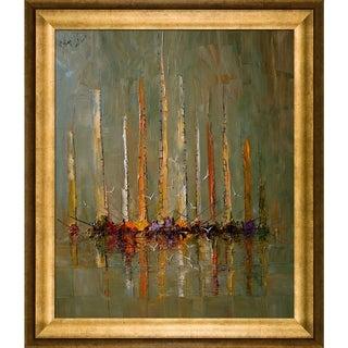 Justyna Kopania 'Boats ' Framed Fine Art Print