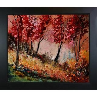 Pol Ledent 'In the wood 451190 ' Framed Fine Art Print
