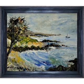 Pol Ledent 'Seascape 671101 ' Framed Fine Art Print