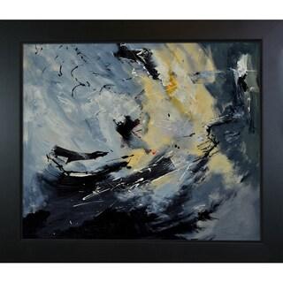 Pol Ledent 'Abstract 8821203 ' Framed Fine Art Print