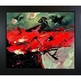 Pol Ledent 'Abstract 665888 ' Framed Fine Art Print