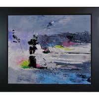 Pol Ledent 'Abstract 6611602 ' Framed Fine Art Print