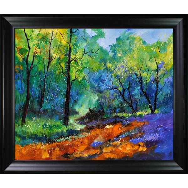 Pol Ledent 'Magic forest 79 ' Framed Fine Art Print