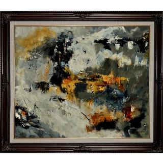 Pol Ledent 'Abstract 88211131 ' Framed Fine Art Print