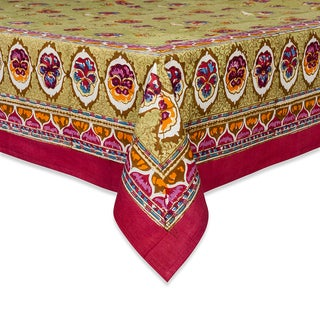 Couleur Nature Pansy Square Tablecloth