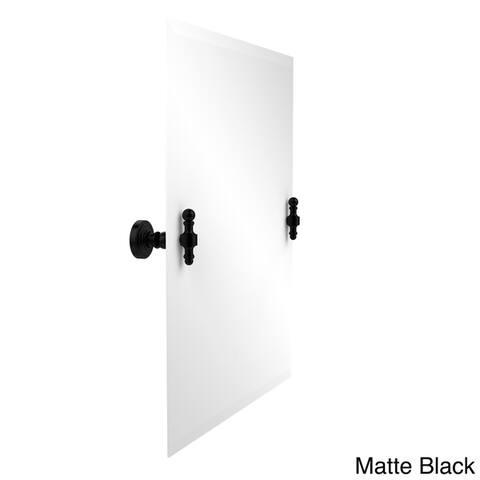 Retro Wave Collection Unframed Rectangular Tilt Wall Mirror