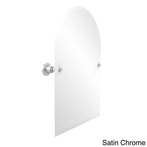 Allied Brass Frameless Arched Top Tilt Wall Mirror Astor Place Collection with Beveled Edge