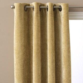 Austin Horn Classics Elite Velvet Chenille Luxury Curtain Panel