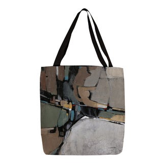 Thumbprintz 'Conjunction III' Canvas Graphic-print Tote