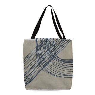 Thumbprintz 'Echo Location III' Graphic Print Canvas Tote