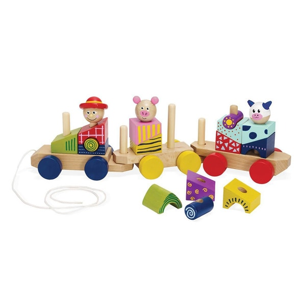 Manhattan Toy Stack and Pull Train