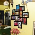 12-opening Wooden Wall Black Collage Photo Picture Frame Wall Art