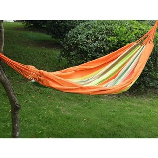 Adeco Naval-style, 2-person Hammock, Tahiti Color