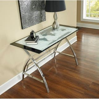 Buy craft desk online at overstock our best home office powell adventurers world map x sided computer desk gumiabroncs Gallery