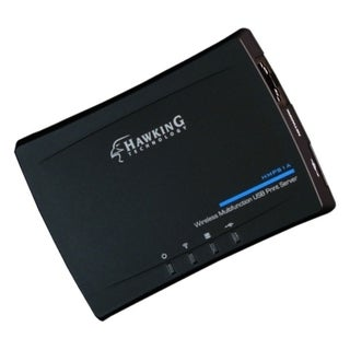 Hawking Wireless Multifunction USB Print Server