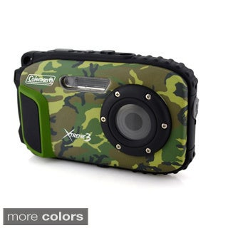 Coleman Xtreme3 20 MP Waterproof Digital Video Camera with 1080p HD Video