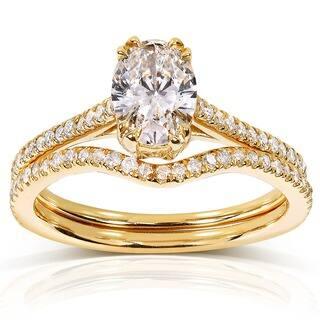 Oval Bridal Sets - Wedding Ring Sets For Less | Overstock.com
