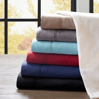 Pine Canopy Little River Stain Resistant Fleece Sheet Set