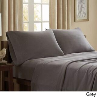 Porch & Den Herron Stain Resistant Fleece Sheet Set