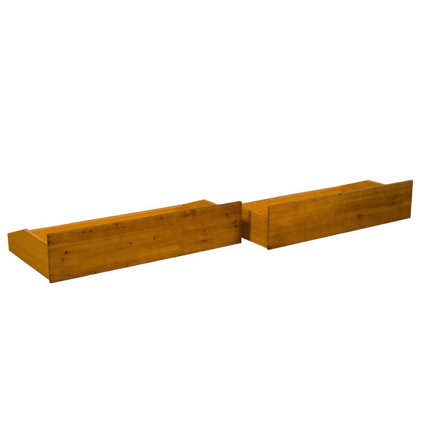 All Wood Storage Drawer Pair Fits Underneath Full And Queen Size Futon  Frames And Twin