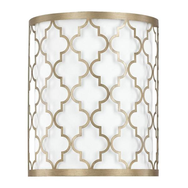 Capital Lighting Ellis Collection 2-light Brushed Gold Wall Sconce  sc 1 st  Overstock.com & Shop Capital Lighting Ellis Collection 2-light Brushed Gold Wall ...