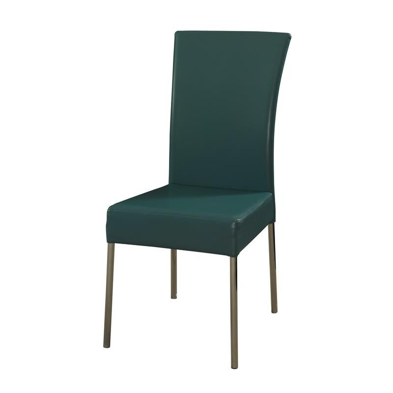 Powell Furniture Camille Teal Dining Chair (Set of 2) (Ca...
