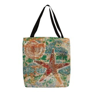 Thumbprintz 'Coastal Motif I' Printed Canvas Tote