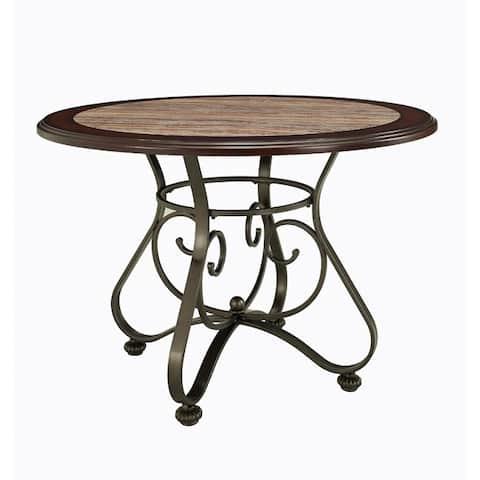 Powell Bradford Dining Table - Bronze