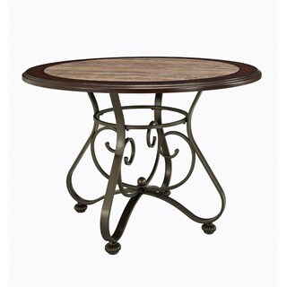 Powell Bradford Dining Table - Bronze