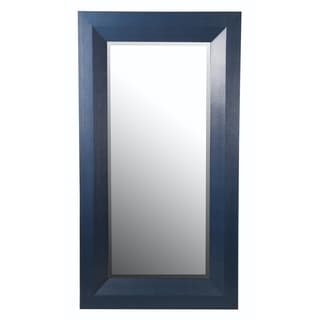 Shagreen Blue Wall Mirror