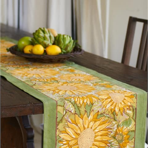 Couleur Nature Sunflower Table Runner
